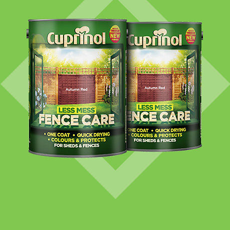 Cuprinol Less Mess Fence Care 5L - 2 for £14