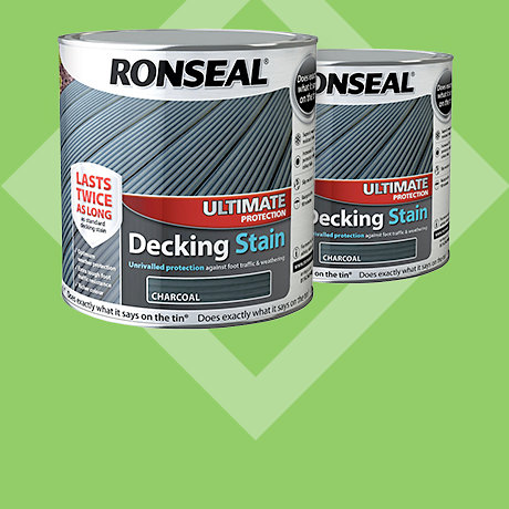 Ronseal Ultimate Protection Decking Stain 2.5L - 2 for £43