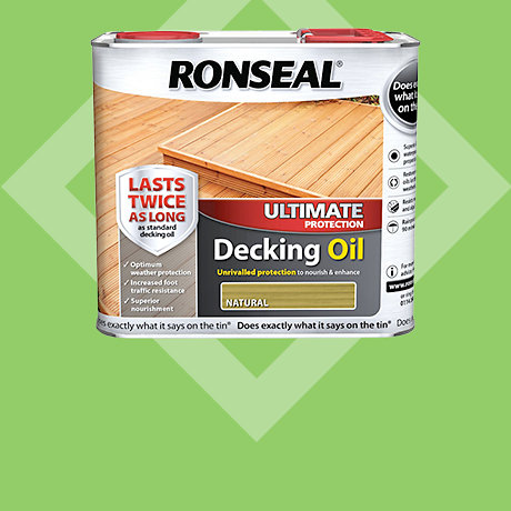 Ronseal Ultimate Protection Decking Oil 2.5L - 2 for £50