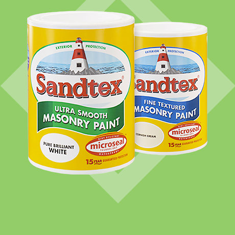 Sandtex masonry 5L - 2 for £40