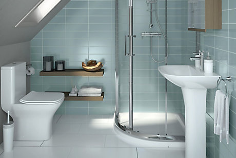 Cooke & Lewis Lanzo bathroom suite