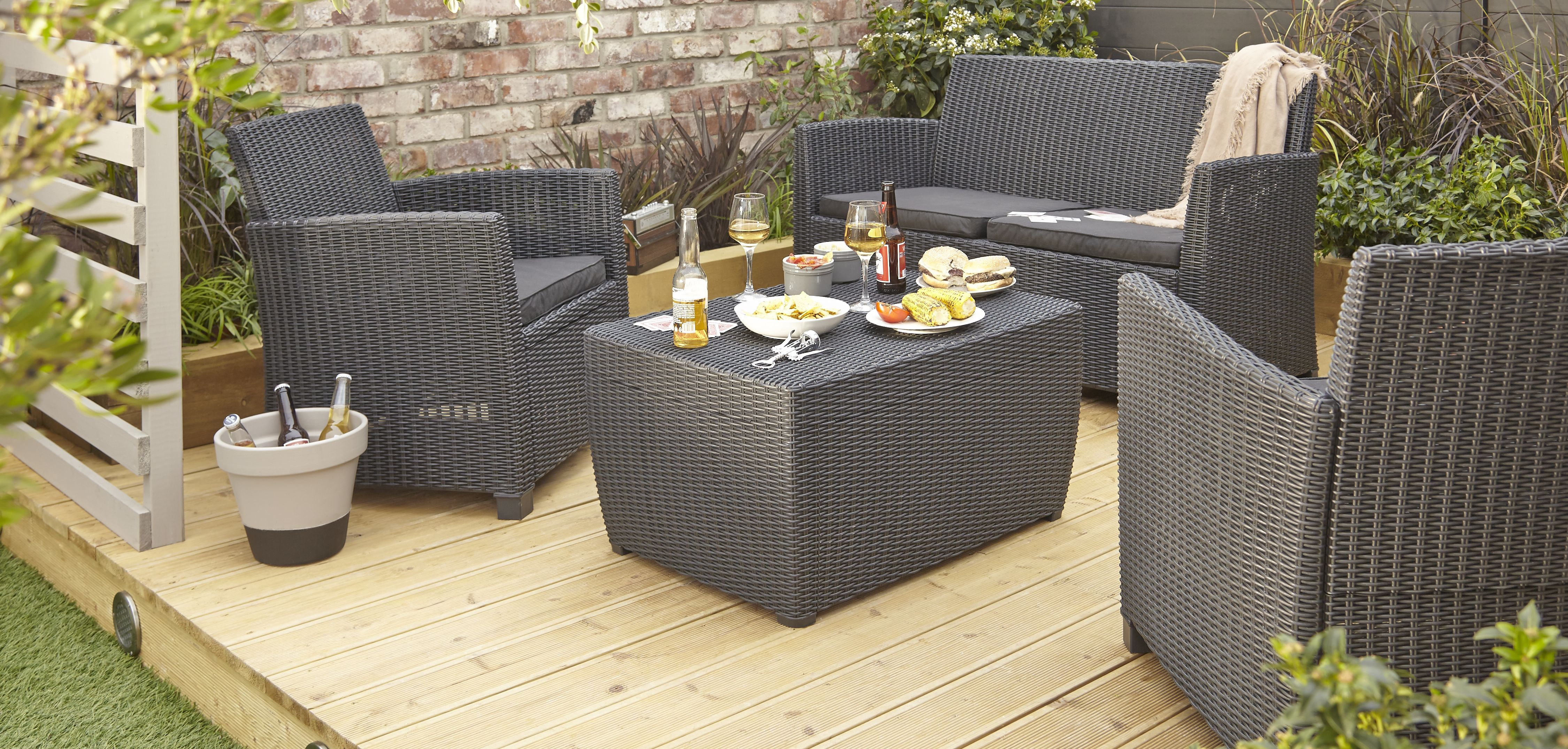 Garden Furniture Made From Decking decking | garden | diy at b&q