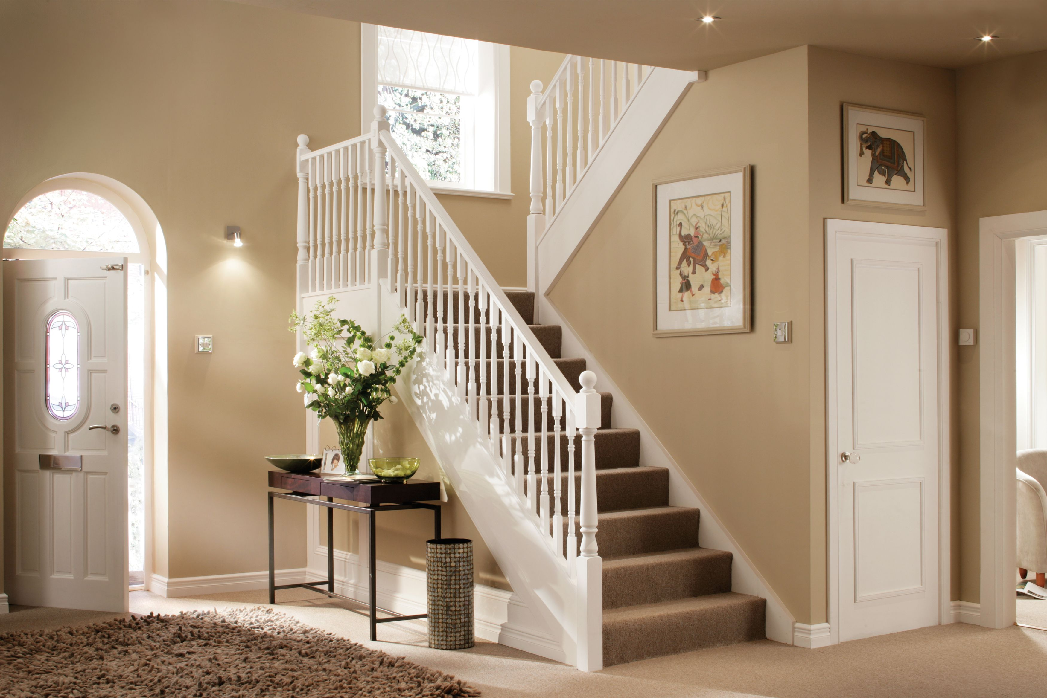 First impressions count bringing your hallway to life Hallway colour scheme ideas
