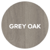 Darwin external storage grey oak swatch