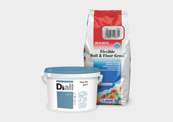 Tiling grout & adhesives