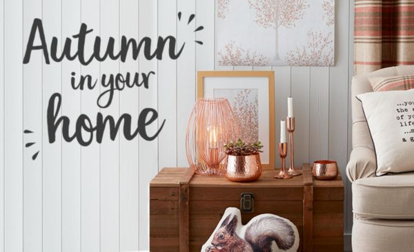 Autumn in your home