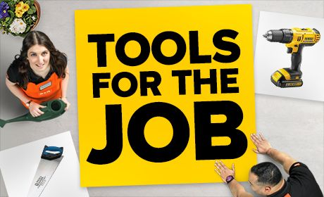 Browse our range of Tools For the Job