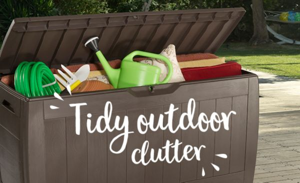 Browse our range of Garden Storage