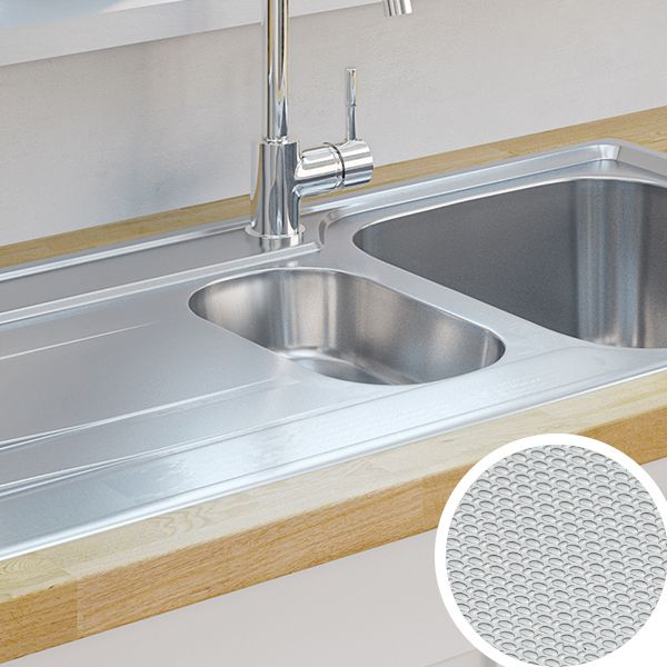beautiful Which Kitchen Sink #9: Linen Stainless Steel Sinks