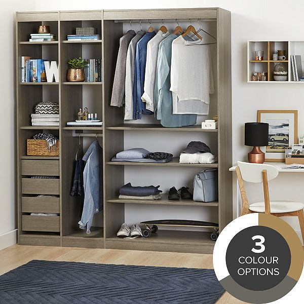 Modular furniture storage furniture diy at b q for Modular bedroom furniture systems
