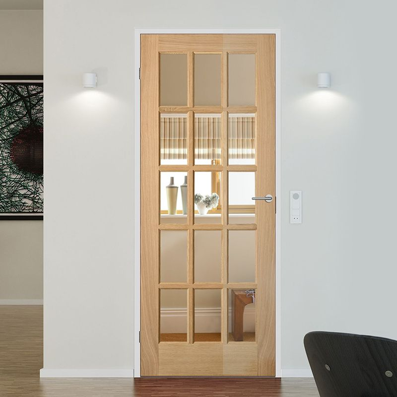 fully glazed doors - Glass Interior Doors