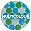 Multicolour swatch