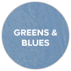Greens & blues swatch