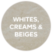 Whites, creams & beiges swatch