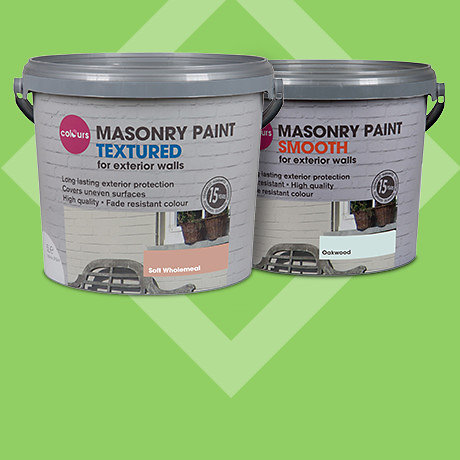 Colours 5L Masonry<br>2 for £34*