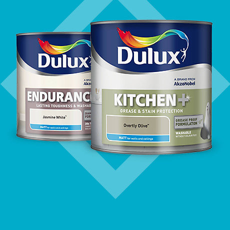Dulux 2.5L Kitchen & Bathroom 2 for £32*