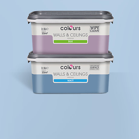 2 for £20 - 2.5L standard coloured emulsion