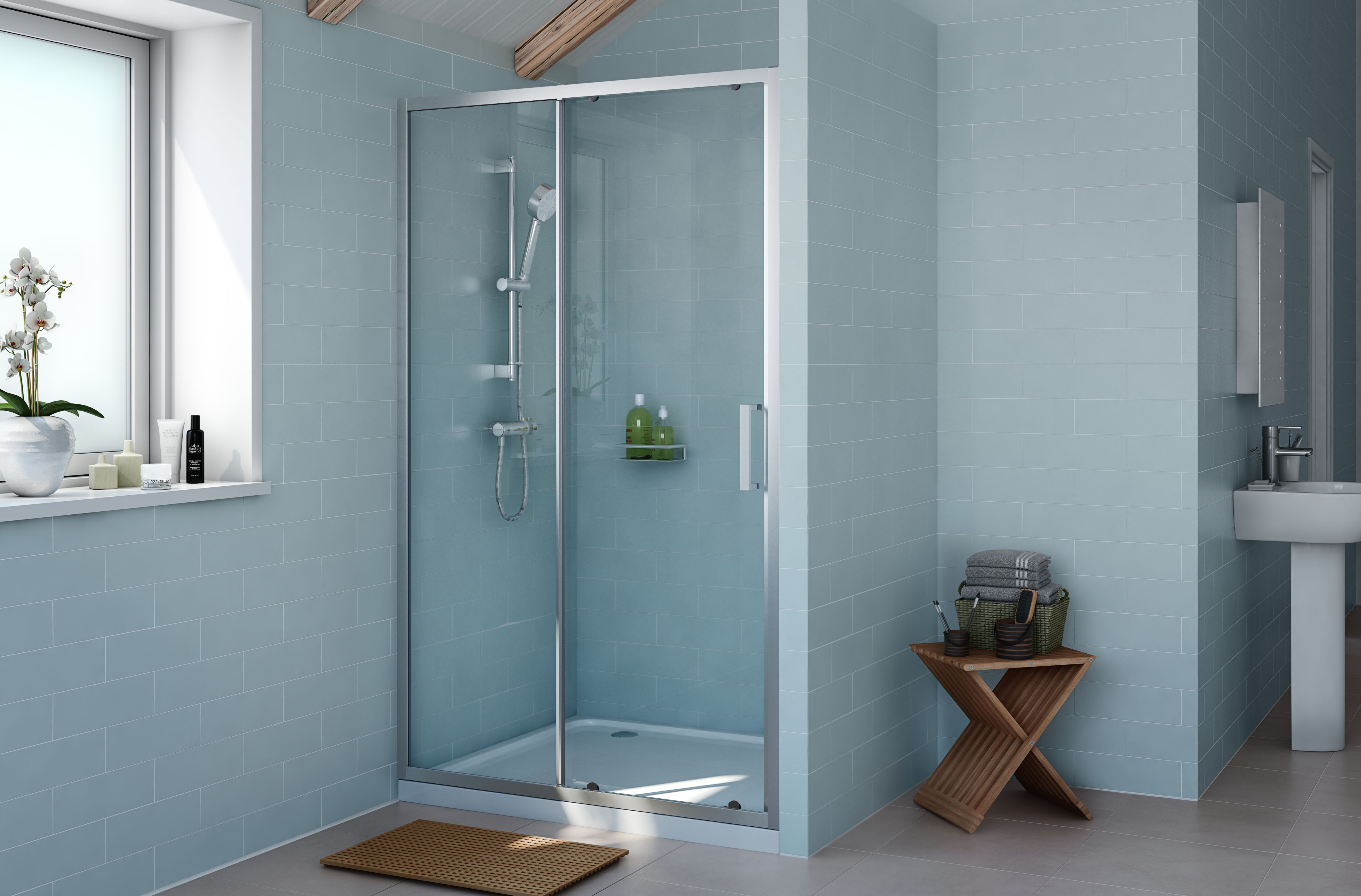Captivating Rectangular Shower Enclosures
