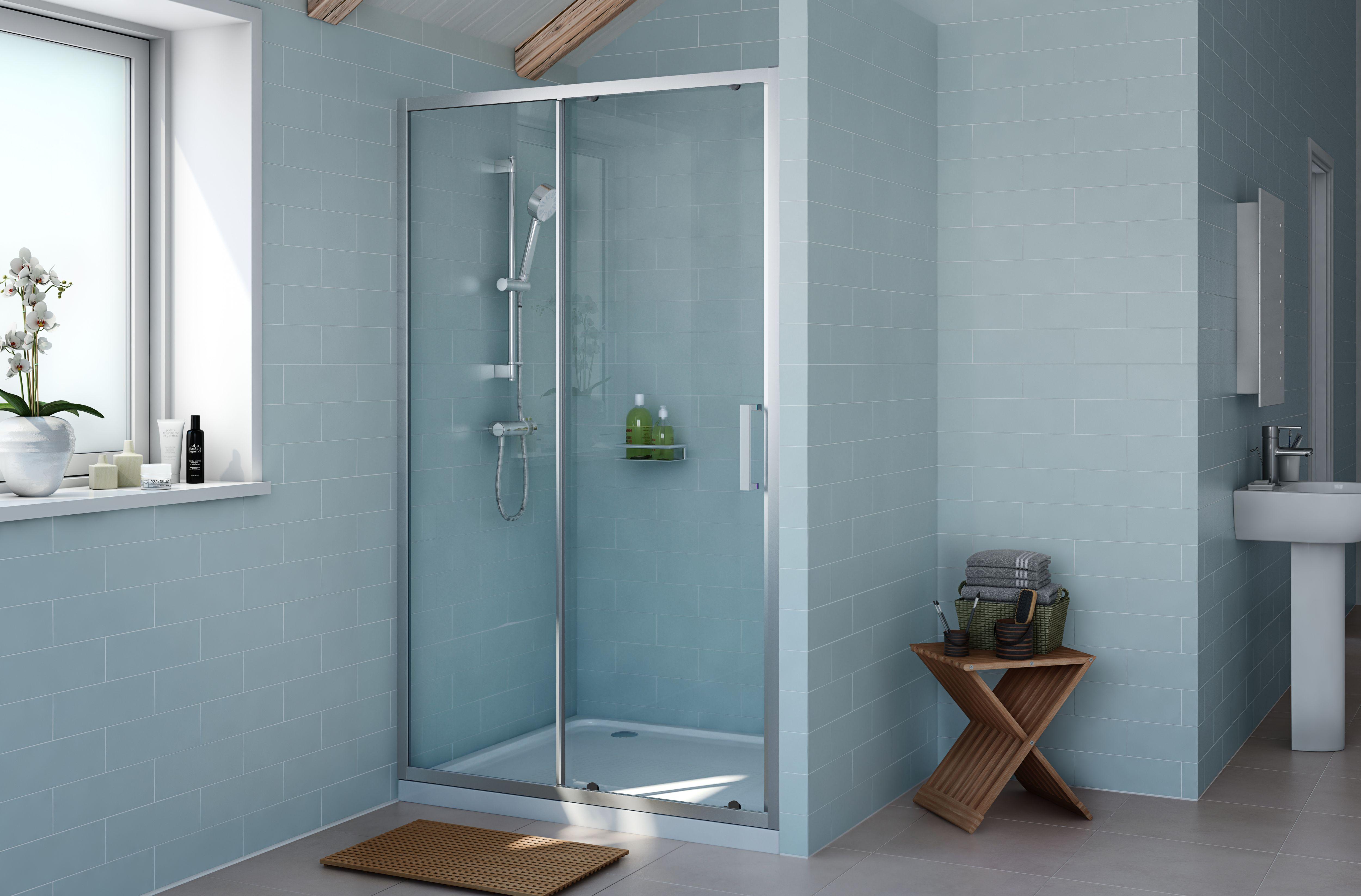 rectangular shower enclosures