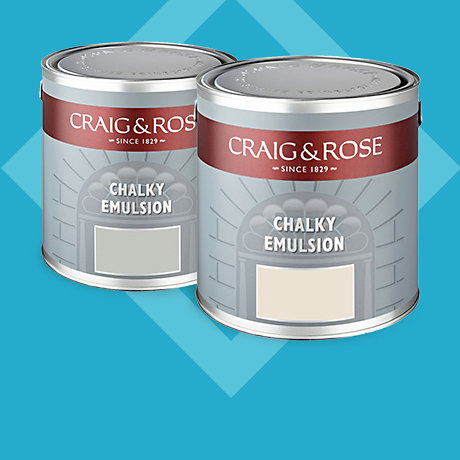 Craig & Rose Standard Coloured Emulsion 2 for £35