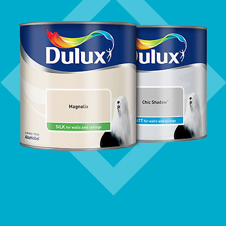 Dulux 2.5L standard coloured emulsion - 2 for £22