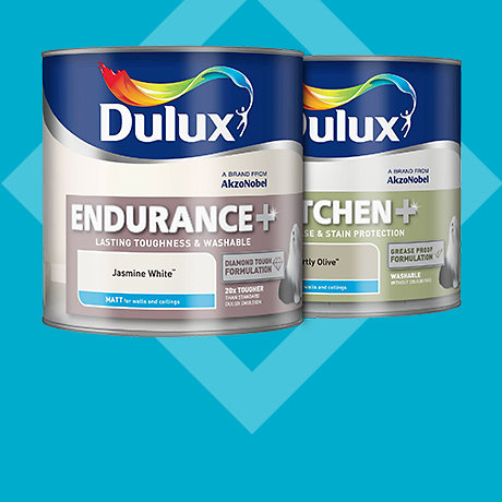 Dulux 2.5L Kitchen & Bathroom & Endurance - 2 for £30