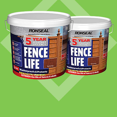 Ronseal 5 Year Weather Defence 5L 2 for £22