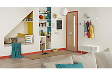Brightly coloured happy room