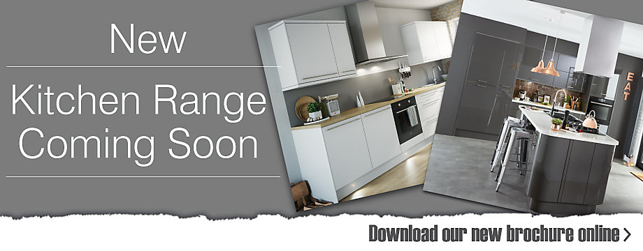New Kitchen Ranges coming soon