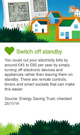 Switch off standby costs image