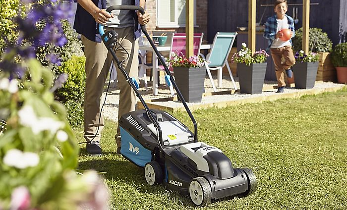 """Mac Allister 1600W Rotary Lawnmower"""