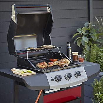 Berkeley 3 burner gas barbecue