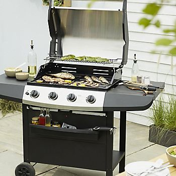 Ultar 4 Burner Gas Barbecue