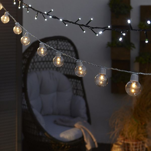 Outside String Garden Lights : Outdoor Lighting Garden Lighting & Solar Lights DIY at B&Q