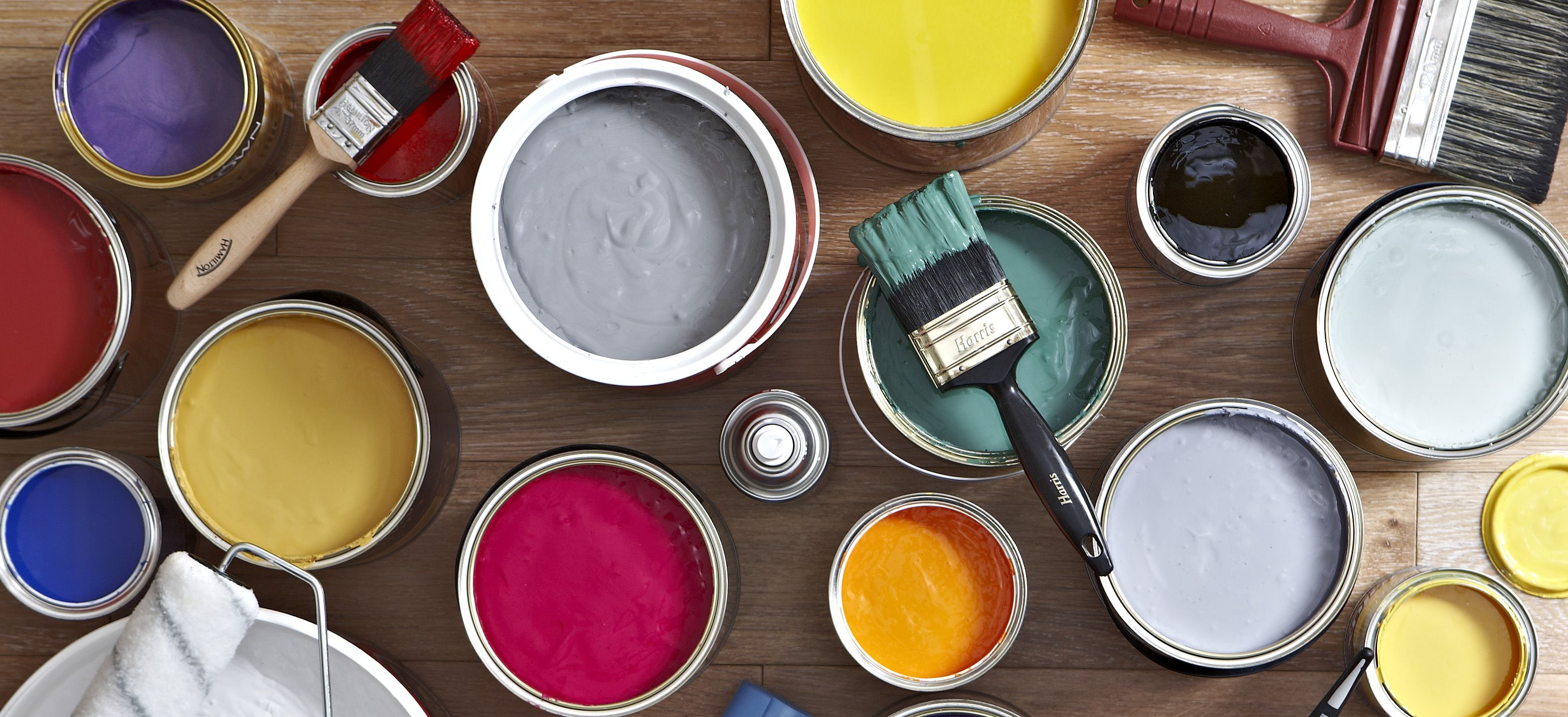 How to recycle paint and paint cans help ideas diy for Pot painting materials required