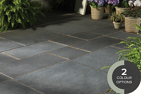 image of natural limestone paving