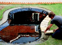 how to create a pond ideas advice diy at b q
