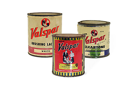 The Valspar brand
