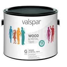Image of Valspar Exterior Wood & Metal Paint