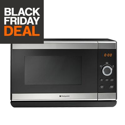 Hotpoint microwave oven was €95 now €62