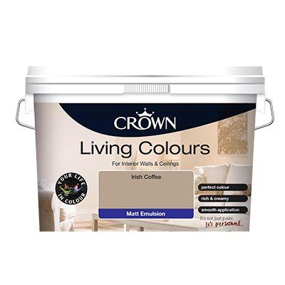 Crown Living Colours 10 Litre Emulsion was €41.98 now €30