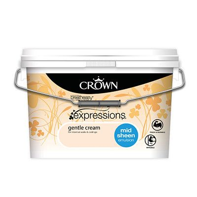 Crown 10 litre mid sheen coloured Expressions was €41.98 now €30