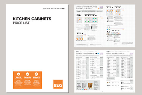 View The Brochure · Kitchens Cabinets Price List