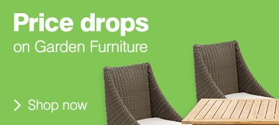 Price drops on garden furniture