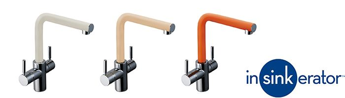 Insinkerator Coloured taps