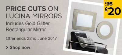Price cuts on Lucina mirrors