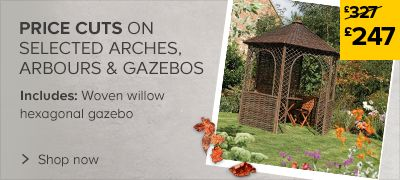 Price cuts on Arches, Arbours & Pergolas
