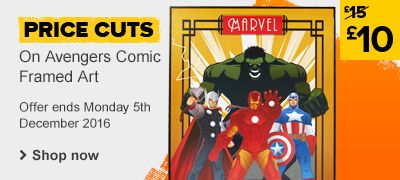 Avengers wall art price cuts