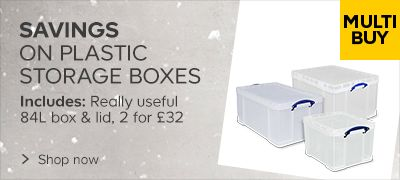 Multi-Buy Plastic Storage Boxes