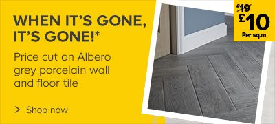 Now: £10 per sq.m on Albero Wall tile